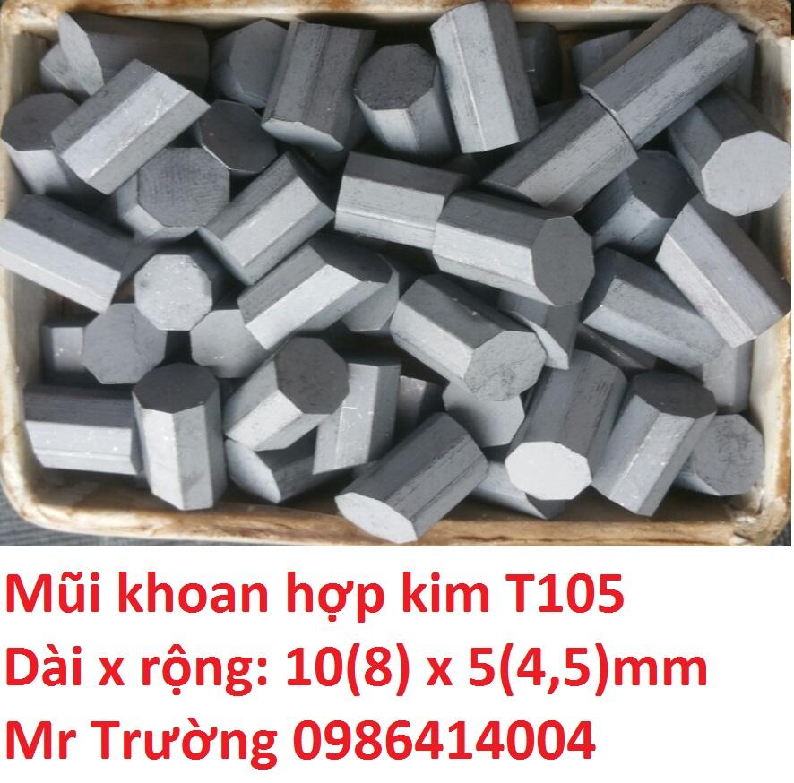 Hạt hợp kim khoan giếng T105