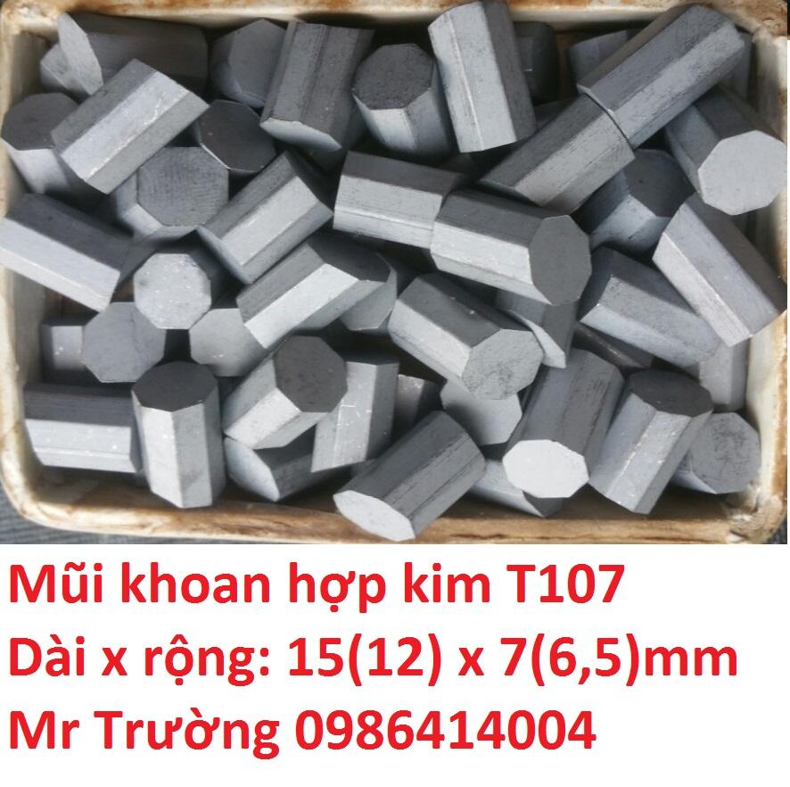 Hạt hợp kim khoan giếng T107
